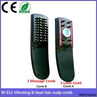 Buy cheap hair scalp massager vibration relax nerver hair grow laser comb from wholesalers