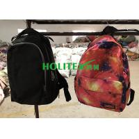 Buy cheap Clean Used School Bags Mixed Size Second Hand Backpacks For Female / Male from wholesalers
