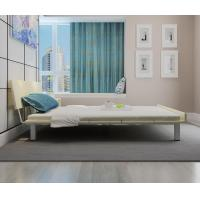 Buy cheap Mealmine board Simple double plate bed 1.8 meters in Nordic design adult bed 1.5m IKEA tatami single bed with Iron legs from wholesalers