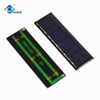 Buy cheap 0.8 Watt 5V solar panel photovoltaic With High Efficiency Output ZW-93130 Mini product