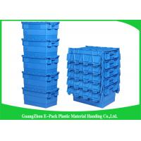 Buy cheap Packaging  Logistic Big Plastic Containers , Distribution Tote With Hinged Lid Rentable Moving from wholesalers