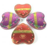 Buy cheap Metal Heart Tin Boxes product