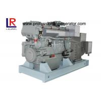 Buy cheap Four Stroke 3 Phase 450kw Diesel Marine Genset for Boats with Heat Exchanger Cooling from wholesalers