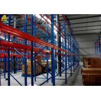 Buy cheap 700-4000KG/ Level Pallet Rack Storage Systems , Durable Heavy Duty Pallet Racking System from wholesalers