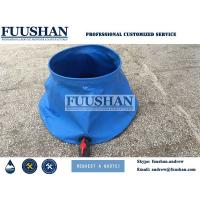 Buy cheap Fuushan 20000L PVC Foldable Onion Shape Water Storage Bladder for Firefighting from wholesalers