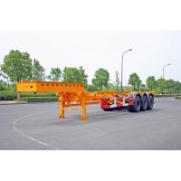 Buy cheap Gooseneck 40ft Container Trailer Chassis , ISO Tank Containers Semi Trailer product