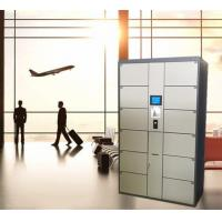 Buy cheap 12 Door Airport Public Storage Locker For Luggage Deposit With Advertising from wholesalers