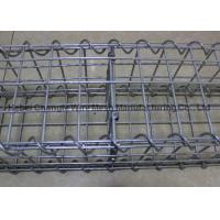 Buy cheap Strong Galvanized Stone Filled Cages Explosionproof , Retaining Wall Baskets Box Wear Resistance from wholesalers