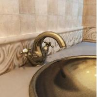 Buy cheap Gold-Plated Faucet/Antique Basin Faucet/Classic Basin Faucet (WR-502401A-GP) from wholesalers