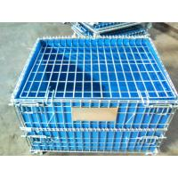 Buy cheap PP Board Protection Cover Wire Mesh Container For Small Parts Completeness from wholesalers