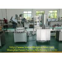 Buy cheap Easy Cleaning Glass Bottle Filling Machine 0.8 Kw Chinese Or English Use from wholesalers