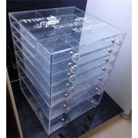 7 tiers wholesale acrylic makeup organizer with drawer - 106648842