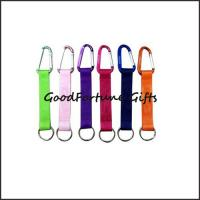 China hot sale printed logo customed promotion mug carabiner lanyard keychain on sale