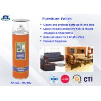 Buy cheap Household Care Highly Efficient Furniture Polish Aerosol Can Anti-UV and Eco-friendly from wholesalers