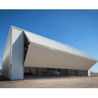 Buy cheap Temporary Aircraft Hangar Steel Structure Buildings With Lift-Up Door from wholesalers