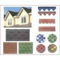 Buy cheap Coloured asphalt shingle from wholesalers