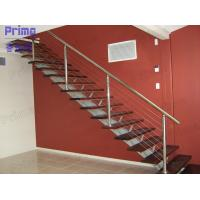China Wood Staircase Stainless Steel Cable Railing on sale