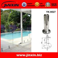 Buy cheap Stainless steel clamp for frameless glass railing swimming pool from wholesalers