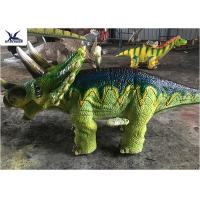 Buy cheap Shopping Mall People Riding Dinosaurs , Dinosaur Toy Ride On For Game Center from wholesalers