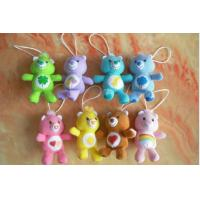 Buy cheap Care Bears Plush Toy Keychain For Promotion Gifts , Red / Yellow / Purple / Brown product