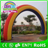 Buy cheap Attractive Advertising inflatable arch ,customized arch like rainbow arch from wholesalers