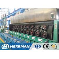 Buy cheap Al Alloy Wire / Copper Rod Drawing MachineWith Dual Bobbin Take Up High Potency from wholesalers