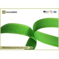 Buy cheap 0.02m Hook Loop Fabric Hook And LoopTape Green For Equipment Installation from wholesalers