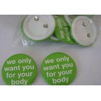 Buy cheap Metal Button Badge, Tin Badge, Cloth Badge from wholesalers
