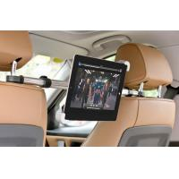 Buy cheap 7 - 10 Car Headrest Mount Holder , iPad Mini / iPad 2 3 4 5 Tablet Backseat Holder from wholesalers