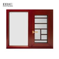 Buy cheap Natural Anodized Type Aluminium Casement Window With Mosquito Net 5+20A+5mm from wholesalers