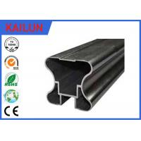 Buy cheap Hollow Powder Coating Aluminum Extrusion Profiles for Sliding Door / Wardrobe from wholesalers