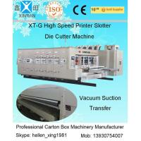 Auto Slotting Flexo Printer Slotter Die Cutter Machine For Corrugate Board