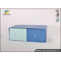 Buy cheap Double Colors Cardboard Gift Boxes Fine Logo Printed Apparel Storage Box from wholesalers