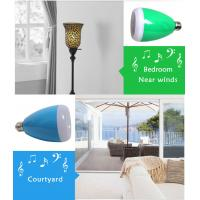 Buy cheap New LED Bulb bluetooth Speaker with Bluetooth system audio,led lamp speaker from wholesalers