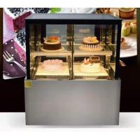 Buy cheap Right Angled Fan Cooling Refrigerated Cake Display Cabinets Low Consumption with product
