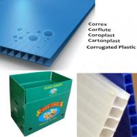 Buy cheap Impact Resistant corrugated plastic packaging sheets For Indoor / Outdoor from wholesalers