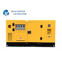 Buy cheap Remote Control Commercial Diesel Generators Long Time Working Sound Insulation from wholesalers