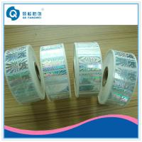Buy cheap Roll Hologram Labels , Custom Hologram Stickers , Anti-fake 3d Hologram Roll Label from wholesalers