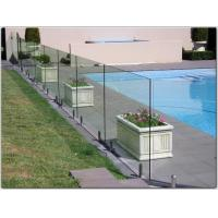 Buy cheap Exterior stainless steel spigot glass railing/ glass balustrade with free design product