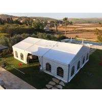 Buy cheap 12mX21m Outdoor Event Tents Popular Waterproof  Fiire Retardant  White With Windows product