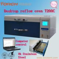 Buy cheap Small desk Automatic T200C+ with Temperature Test SMT LED reflow oven solder Reflow oven machine from wholesalers