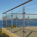 Buy cheap Modern Design frameless Glass stainless steel Railing for balcony/ terrace/garden from wholesalers