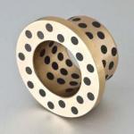 Buy cheap Solid Bronze Metallic Self Lubricating Bearing , Plug Graphite Flange Cast Bronze Bushings from wholesalers