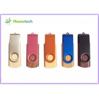 Buy cheap Swivel & Twist Wooden USB Flash Drive pendrive 512MB / 1GB / 2GB for notebook product