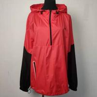 Buy cheap Lightweight Sustainable Outdoor Clothing Red And Black With Long Sleeve product