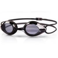 PC Lens Optical Swimming Goggles Black Color UV Shield Fashion Design
