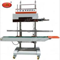 Buy cheap Nitrogen Sealing Machine DBF-1000 Continuous Cellophane Band Sealer with Nitrogen Flushing from wholesalers