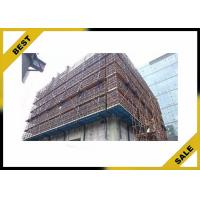 Buy cheap Cylinder Lifting Climbing Scaffolding System Galvanized Guide Rail Climbs Simple from wholesalers