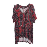 Buy cheap Thin Women'S Plus Size Short Sleeve Shirts / Long Dressy Tops OEM / ODM from wholesalers