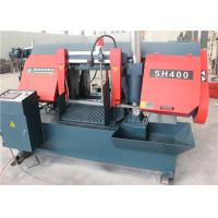 Buy cheap Heavy Duty CNC Metal Bandsaw Machine Hand Saw Belt Tighten Style With Stable Descending Speed from wholesalers